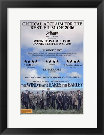 Framed Wind That Shakes The Barley Print