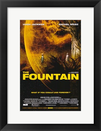 Framed Fountain Print