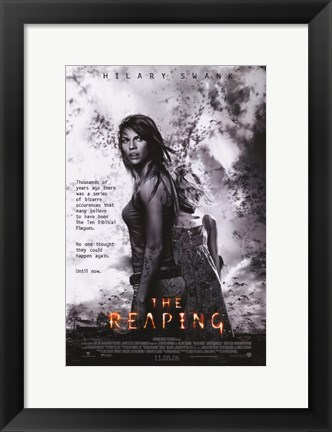 Framed Reaping Movie Print