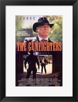 Framed Gunfighters Print