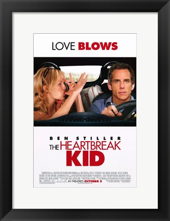 Framed Heartbreak Kid Ben Stiller Print
