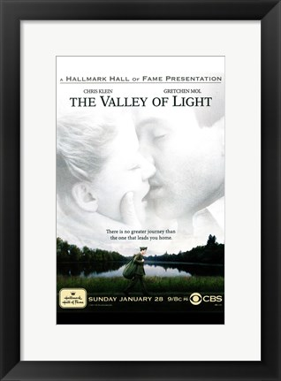Framed Valley of Light Print