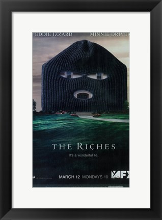 Framed Riches Print