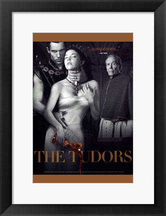 Framed Tudors Tv Series Print