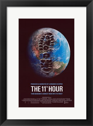 Framed 11th Hour Darkest Hour Print