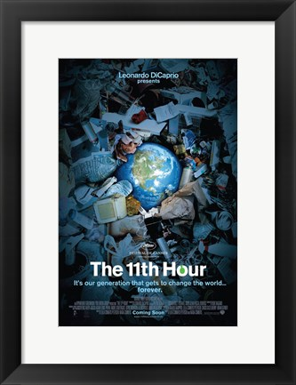 Framed 11th Hour Leonardo DiCaprio Print