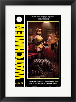 Framed Watchmen - style G Print