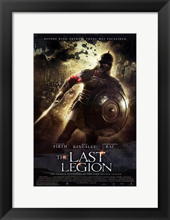 Framed Last Legion Print