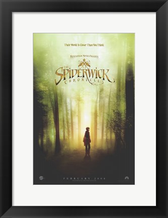 Framed Spiderwick Chronicles -  Man standing Print