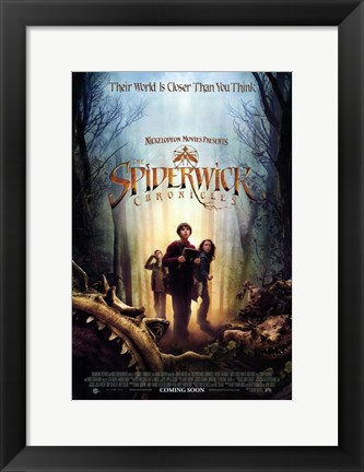 Framed Spiderwick Chronicles - Their world is closer than you think Print