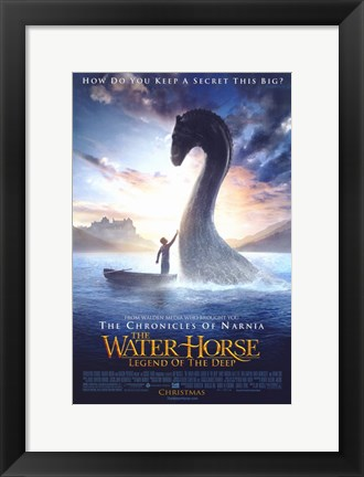 Framed Water Horse: Legend of the Deep Print