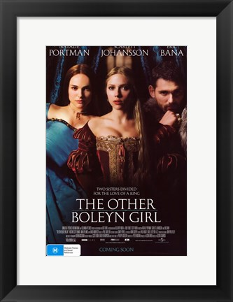 Framed Other Boleyn Girl Print