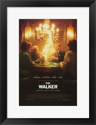 Framed Walker Print