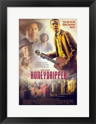 Framed Honeydripper Print