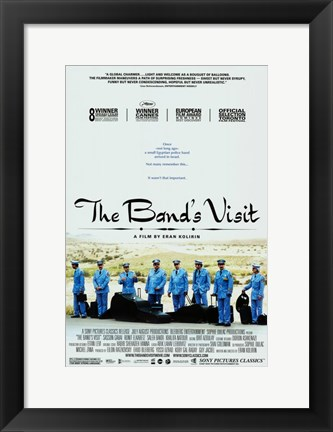 Framed Band's Visit Blue Uniforms Print