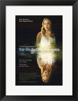 Framed Life Before Her Eyes Print