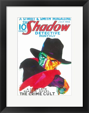 Framed (Pulp) Shadow Print