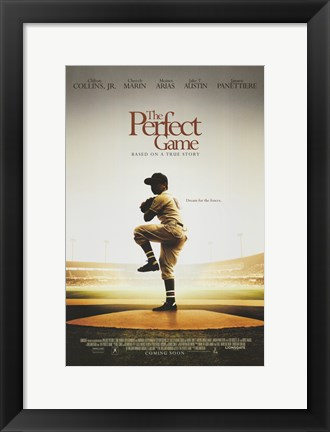 Framed Perfect Game Print