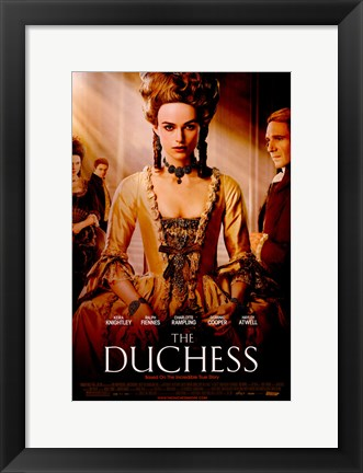 Framed Duchess Print