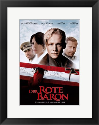 Framed Red Baron Print