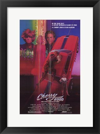 Framed Cherry 2000 Print