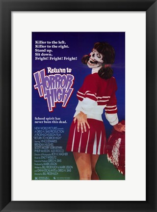 Framed Return to Horror High Print