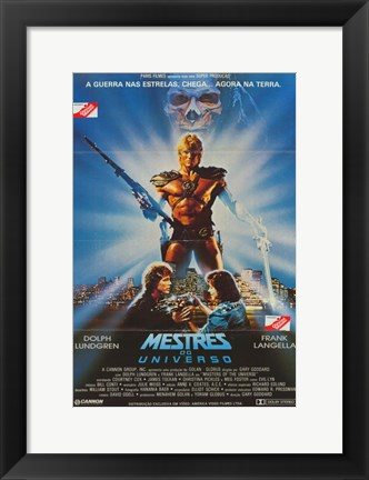Framed Masters of the Universe Print