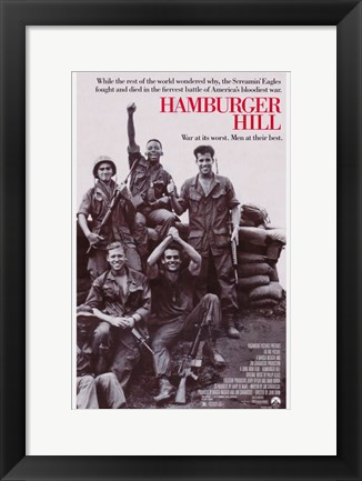 Framed Hamburger Hill Print