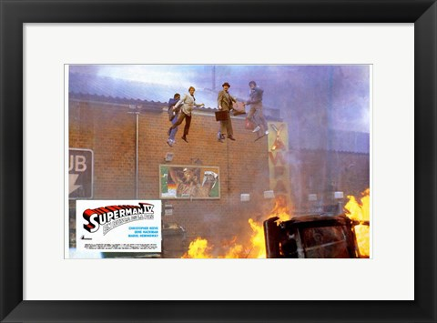 Framed Superman 4: The Quest for Peace Movie Scene Print