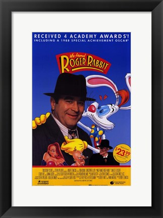 Framed Who Framed Roger Rabbit Print