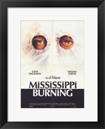 Framed Mississippi Burning Print