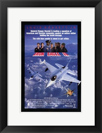 Framed Iron Eagle 2 Print
