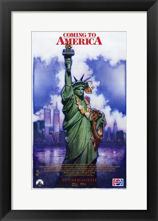 Framed Coming to America Print