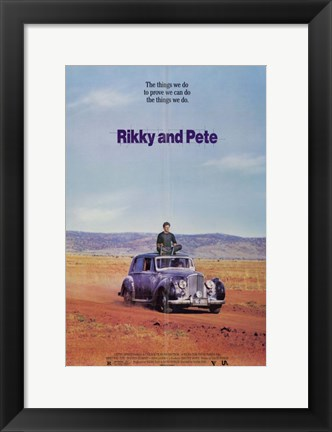 Framed Rikky and Pete Print