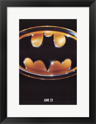 Framed Batman June 23 Print