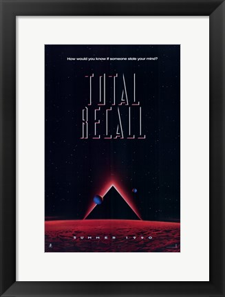 Framed Total Recall Print
