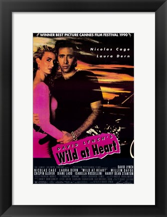 Framed David Lynch'e Wild at Heart Print