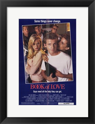 Framed Book of Love Print