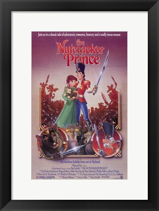 Framed Nutcracker Prince Print
