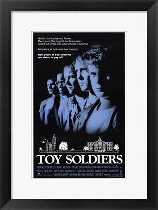 Framed Toy Soldiers Print