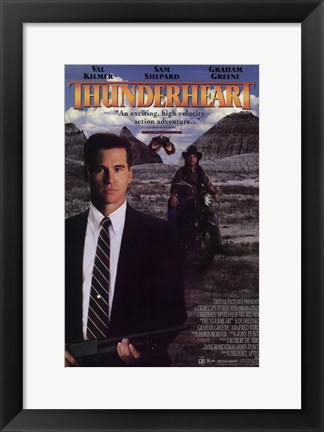 Framed Thunderheart Movie Val Kilmer Print