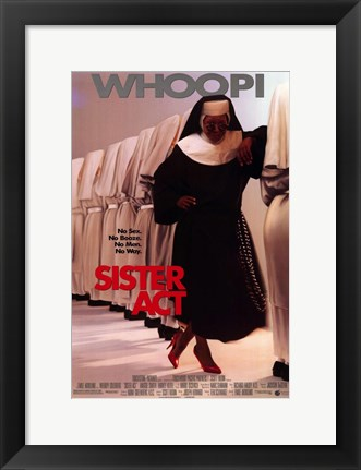 Framed Sister Act Print