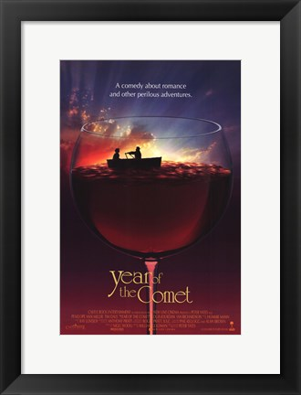 Framed Year of the Comet Print