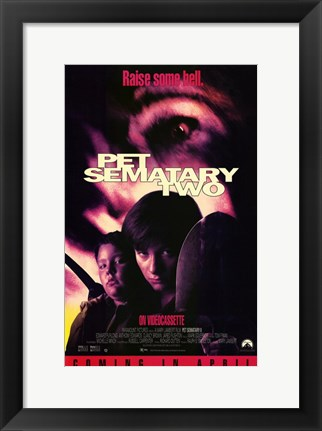 Framed Pet Sematary 2 Print