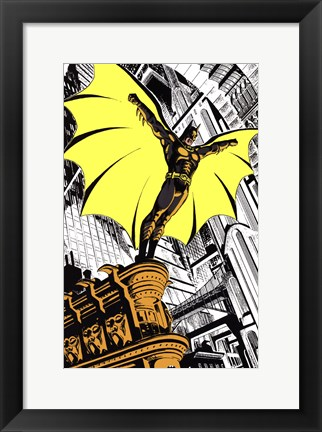 Framed Batman Returns Comic Print
