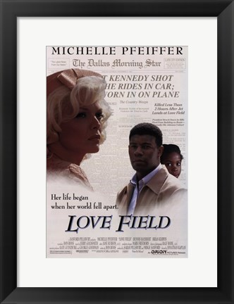Framed Love Field Print