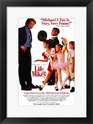 Framed Life With Mikey Print
