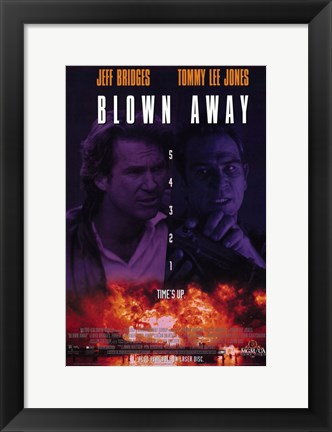 Framed Blown Away Print