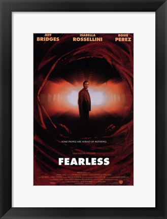 Framed Fearless Print