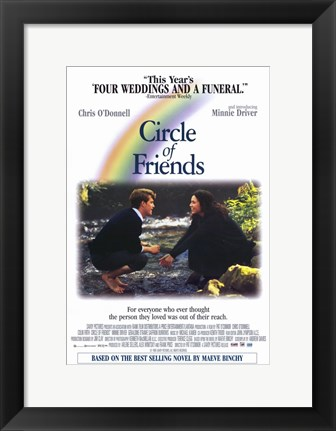 Framed Circle of Friends Print